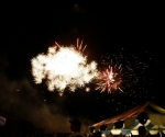 The biggest and best fireworks display in the area!